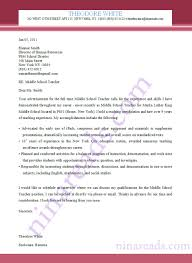 sample application letter for middle school teacher sample application letter for middle school teacher experience and skills