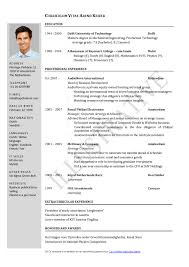 curriculum vitae sample teacher how to write a cover letter curriculum vitae sample teacher cv curriculum vitae the different formats 2017 latest page cv template easy