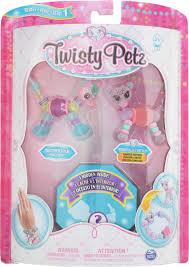 <b>Набор бусин Twisty Petz</b> для плетения 3 браслетов-питомцев ...