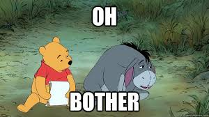 Image result for oh bother
