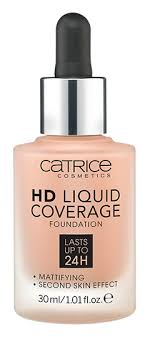 <b>HD</b> Liquid Coverage Foundation <b>Тональная основа</b>