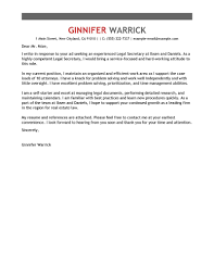office secretary cover letter examples