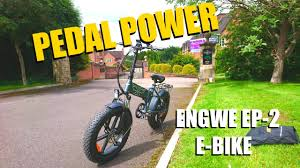 <b>ENGWE EP-2 500w</b> / Great value Fat tyre folding e-bike (Unboxing ...