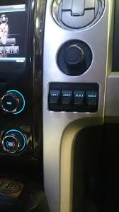 complete upfitter switch install into 2013 f150 platinum ford i ordered the switches and harness for the f250 as the rapture switches where not to my liking