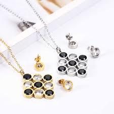 <b>OUFEI</b> Wholesale <b>Jewelry</b> Sets <b>Stainless Steel Jewelry</b> Set For ...
