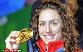 Not picked: Great Britain's Olympic champion Amy Williams misses out on the World Championships - article-0-08A5FBAA000005DC-190_468x298