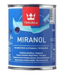 <b>Эмаль алкидная</b> Tikkurila <b>Miranol</b> основа А глянцевая 0.9 л ...