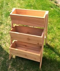 10 cedar tiered flower planter or herb garden ana white build diy apothecary style