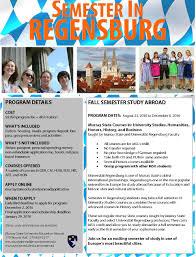 recruitment strategies for study abroad regensburg open advising
