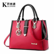 <b>KLY 100</b>% <b>Genuine leather</b> Women handbags 2019 New ...