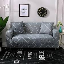 Modern <b>Simple Series</b> High Elastic Sofa <b>Cover</b> Tight Wrap All ...