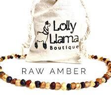 Lolly Llama Adult Raw Baroque <b>Baltic Amber</b> Necklace - <b>All Natural</b> ...