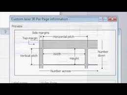 How To Make Custom <b>Label</b> Templates In Microsoft Word - YouTube