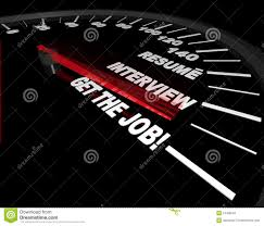 get the job interview process speedometer stock image image get the job interview process speedometer