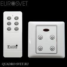 Комплект блоков <b>управления</b> с <b>пультом EUROSVET 99999</b> (10 ...