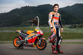 motogp world champion marc marquez fights physics austria view red bull