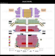 Palace Theatre London seat map and prices for Harry Potter and the    Palace Theatre Seating Price