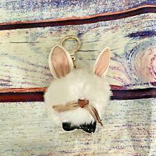 Искусственный <b>мех</b> кролик цепочки для ключей, кольца и ...