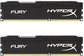 <b>Kingston HyperX FURY</b> 16GB Kit (2x8GB) 1866MHz DDR3 CL10 ...