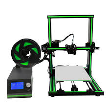 Anet E10 Elegant Green Metal Frame Semi Assembled 3d Printer ...