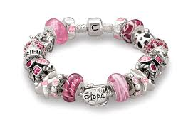 Image result for breast cancer bracelet