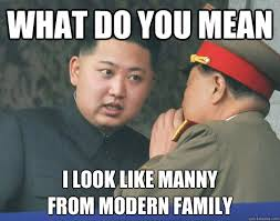 What do you mean I look like manny from modern family - Hungry Kim ... via Relatably.com