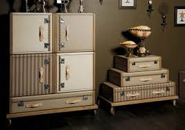 storage furniture retro decor vintage furniture that look like trunks and old suitcases retro decor ideas antique furniture decorating ideas