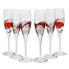 <b>Набор</b> бокалов для шампанского Венеция 6 шт. <b>Top Line</b> (107K03 ...