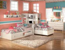 the furniture kids bedroom set with two twin beds and corner bookcase mi bed room sets kids