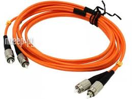 <b>Сетевой кабель VCOM Optical</b> Patch Cord FC-FC UPC Duplex 2m ...