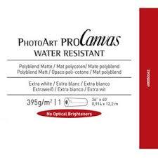 Canson Infinity PhotoArt <b>ProCanvas</b> Matte 395gsm <b>Water Resistant</b> ...