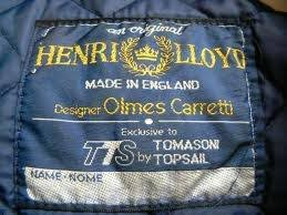 Henri Lloyd large <b>woven label</b> | Nautical fashion, <b>Woven labels</b> ...