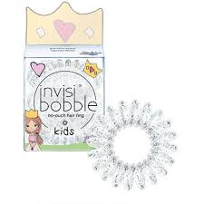 <b>invisibobble</b>® No-Ouch Hair Ring 3 Pack <b>KIDS Princess</b> Sparkle in ...