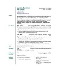 example resume for nurses  long term care nurse resume template    free nursing resume templates