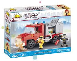 <b>Конструктор Cobi</b> Action <b>Town</b> (1468) <b>City Pumper</b> Truck купить с ...