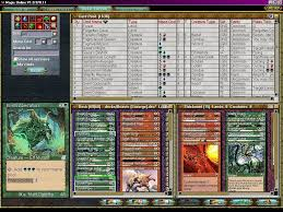 magic the gathering online screenshots for windows mobygames deck builder