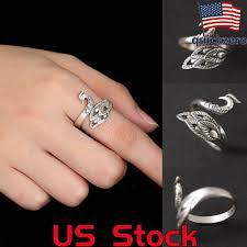 Ring Rock Silver 925 Amethyst Women Skeleton Punk <b>Cool Skull</b> ...