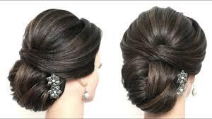 <b>Elegant Bridal</b> Hairstyle For Long Medium <b>Hair</b>. <b>Wedding</b> Updo ...