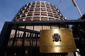 Resultat d'imatges de tribunal constitucional