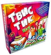 Купить <b>Настольная игра STRATEG</b> ТвисТик 2 в 1 по низкой цене с ...