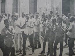 Resultado de imagen para movilización de estudiantes en barahona