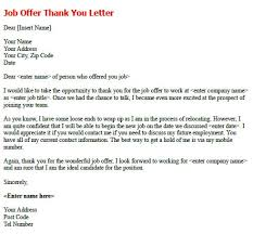job offer thank you letter   job seekers forumsrelated letter examples