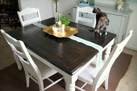 Restaining Kitchen Table Refinishing The Dining Room Table Shannon Claire