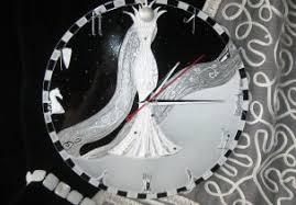 "Настенные <b>часы</b> ""Судьбоносная королева"" / <b>Wall</b> clock"