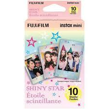 <b>Fujifilm</b> Instax Mini <b>Shiny</b> Star Film – 10 Exposures for sale online ...