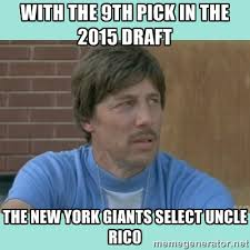 With the 9th pick in the 2015 draft the New York Giants select ... via Relatably.com