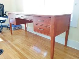 most office tables that you find that are made from real wood are made from pine that because pine is widely available fairly strong awesome pine desks home office
