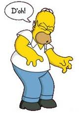 Image result for Homer Simpson Doh! images