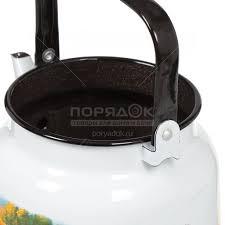 <b>Чайник эмалированный</b> ЛЗЭП Лысьва С-2713П2/4Рч Хуторок, <b>3.5 л</b>
