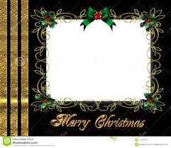 christmas border photo frame elegant stock images image  christmas border photo frame elegant